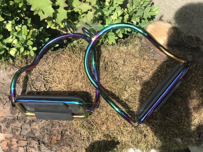 Steigbügel Island Sicherheitssteigbügel Islandbügel multicolor Regenbogen H5012