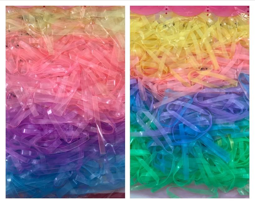 Mähnengummis Einflechtgummis Mähnenbänder Pferdebedarf Farbwahl 1