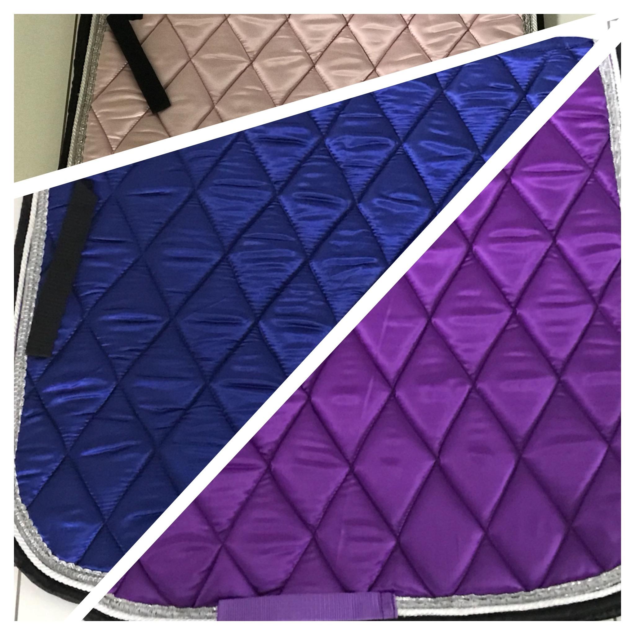 Dressur trendige Schabracke in TOP Farben Metallic FR2